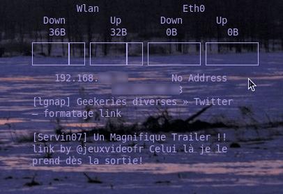 ConkyTwitter